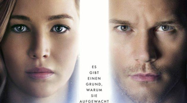 """Passengers"": Musik-Trailer zum Sci-Fi-Film mit Jennifer Lawrence Poster"