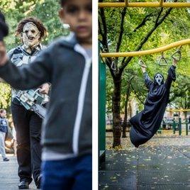 Jason & Freddy ganz privat: Künstler mischt Horror-Ikonen unters Volk – das Ergebnis ist genial!