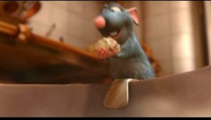 Ratatouille - Trailer Poster