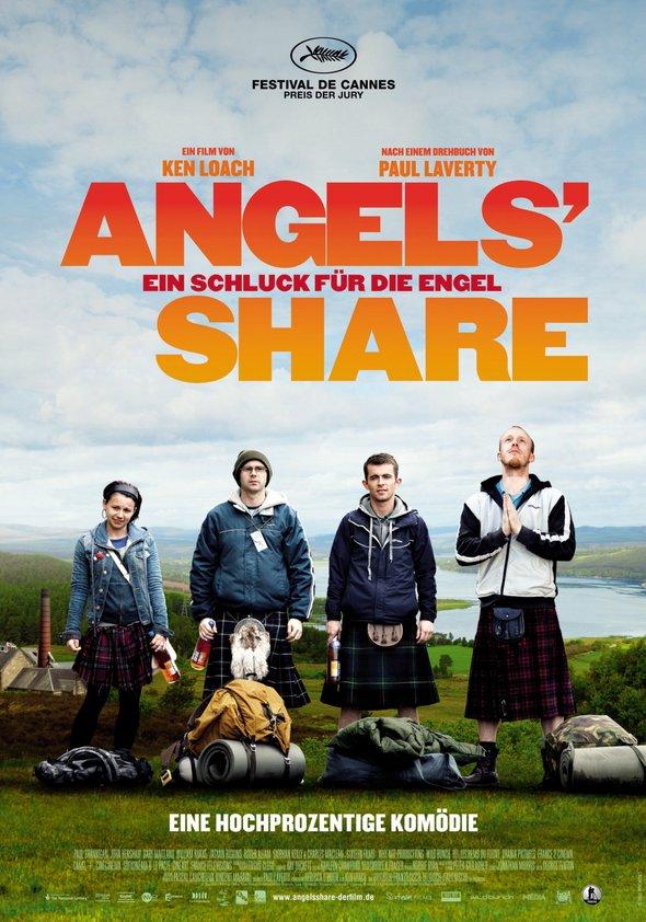 Angels' Share - Ein Schluck für die Engel Poster