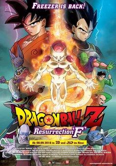 Dragonball Z: Resurrection F Poster