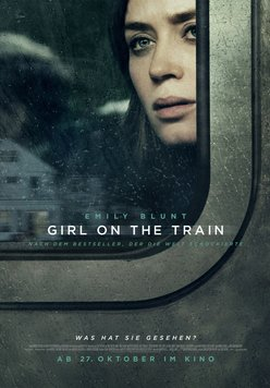 Girl on the Train Poster