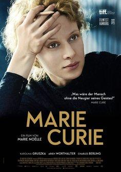 Plakat: MARIE CURIE