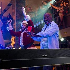 """Hol dir erstklassigen Teufel-Sound für deine """"Office Christmas Party"""""""