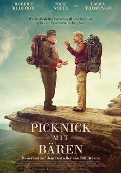 Picknick mit Bären Poster