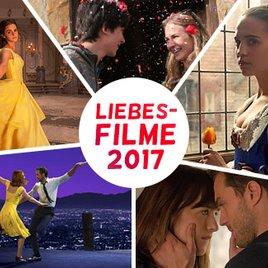 Liebesfilme 2017 im Kino - die romantischsten Filme des Jahres