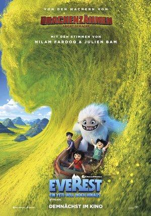 Plakat: EVEREST - Ein Yeti will hoch hinaus