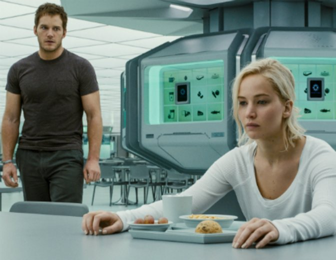 Passengers Jennifer Lawrence Chris Pratt