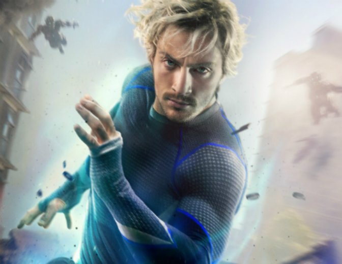 Quicksilver Avengers 2 Age of Ultron Aaron Taylor Johnson