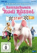 Rennschwein Rudi Rüssel - Die komplette Staffel 1 (2 DVDs) Poster