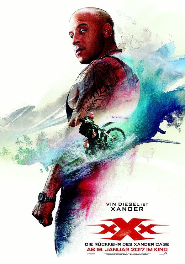 xXx: Die Rückkehr des Xander Cage Poster