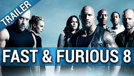 Fast & Furious 8 - Trailer Poster