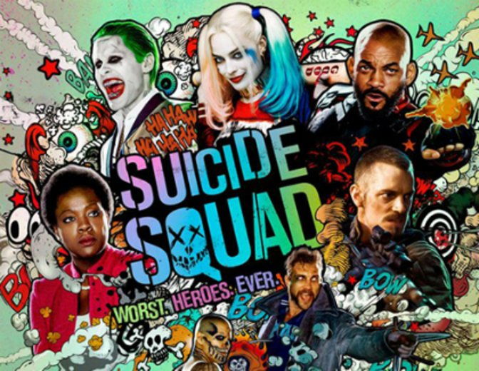 Suicide Squad Poster Extended Cut