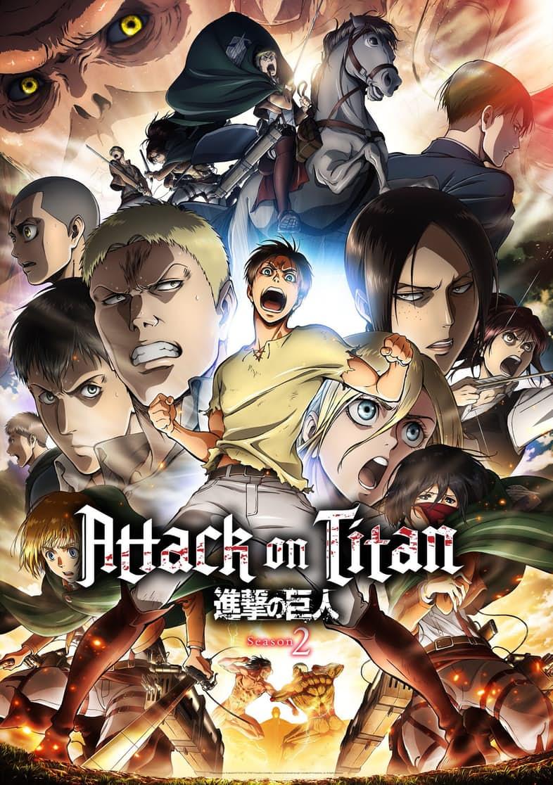 Attack On Titan Netflix Staffel 2