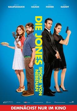 Die Jones - Spione von nebenan Poster