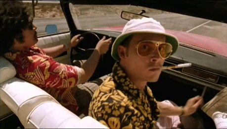 Fear and Loathing in Las Vegas - Trailer Poster