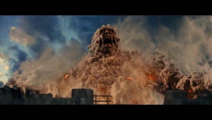 Attack on Titan 2 - End of the World - Trailer Deutsch Poster