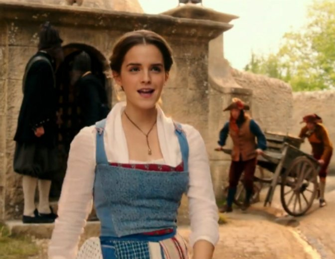 Emma Watson Die Schöne und das Biest Belle