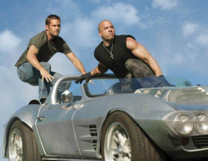 Fast & Furious 8 Paul Walker Vin Diesel