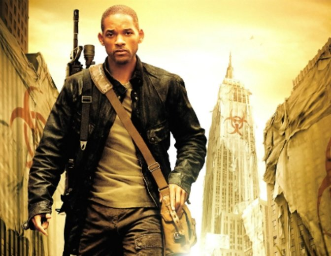 I Am Legend Will Smith Poster