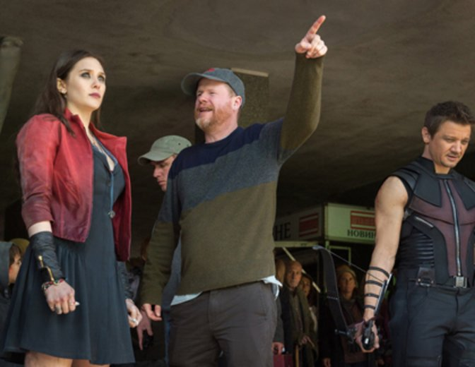 Joss Whedon Avengers 2 Age of Ultron Hawkeye Scarlet Witch