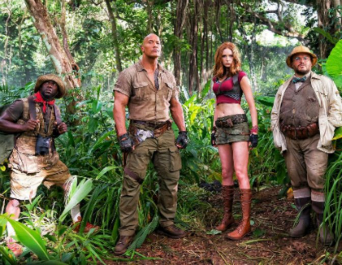 Jumanji 2 2017 Dwayne Johnson