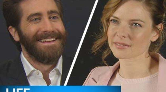 Interview mit Jake Gyllenhaal & Rebecca Ferguson Poster
