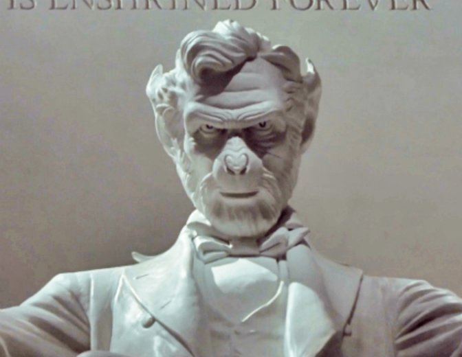 Planet der Affen 2001 Lincoln Memorial