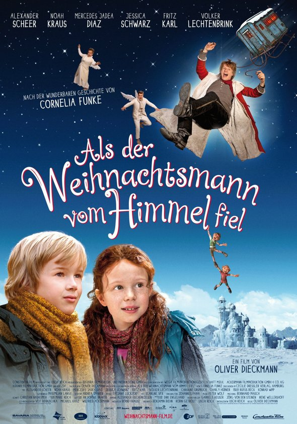 Als der Weihnachtsmann vom Himmel fiel Poster