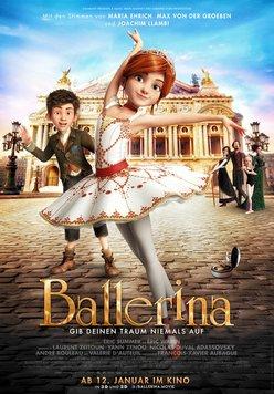 Ballerina - Gib deinen Traum niemals auf Poster