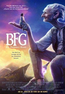 BFG - Big Friendly Giant Poster