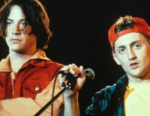 """Bill & Ted 3: Face the Music"": Granatenstarke Videobotschaft enthüllt den Kinostart"