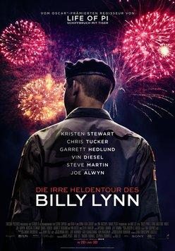 Die irre Heldentour des Billy Lynn Poster