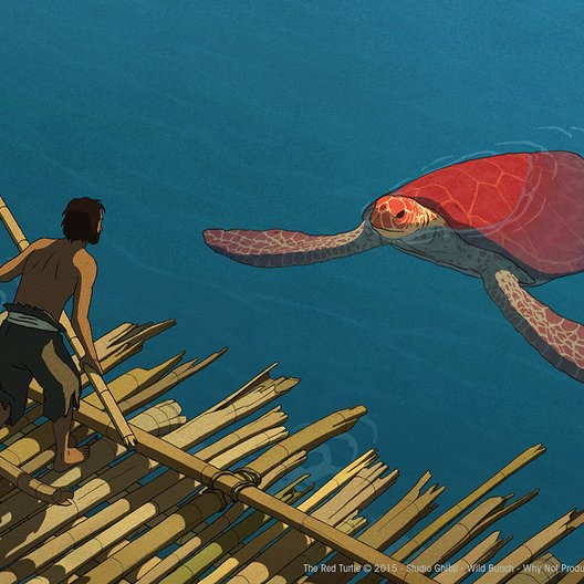 the red turtle studio ghibli official trailer.mp4 Poster
