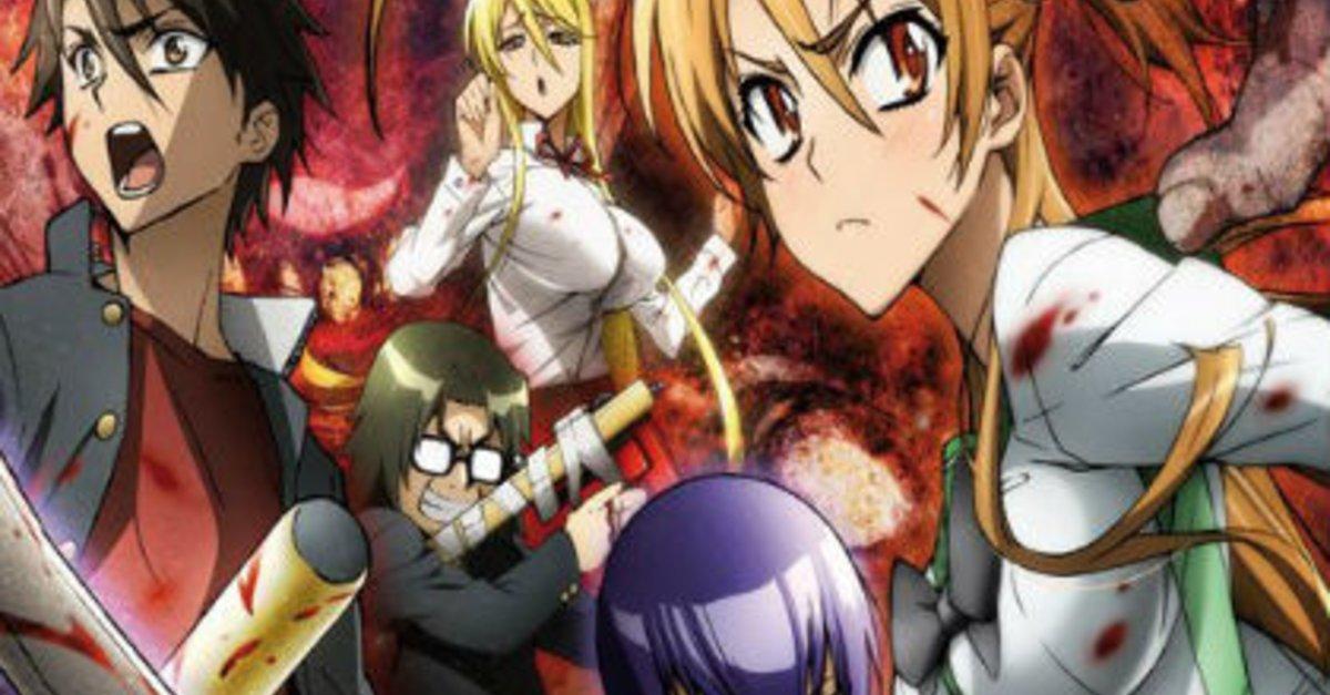 Highschool Of The Dead Staffel 2 Stream Daisuke Sato Ist Verstorben KINOde
