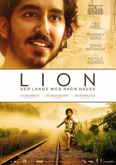 Plakat: LION - DER LANGE WEG NACH HAUSE