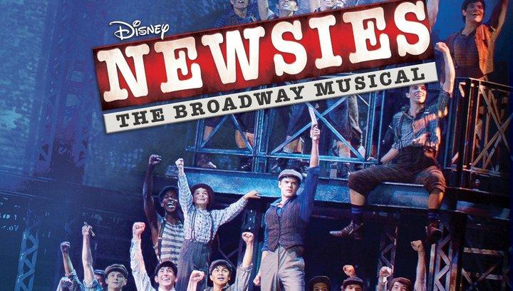 Disney Newsies - Das Broadway Musical - Trailer Deutsch Poster