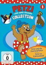 Petzi und seine Freunde Collection 1 - Petzi und die Saurierpflanze / Petzi im Kakteenwald Poster