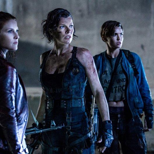 Resident Evil 6 - The Final Chapter - Trailer-Teaser Deutsch Poster