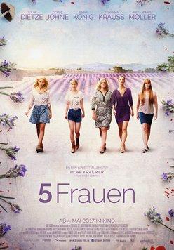 5 Frauen Poster
