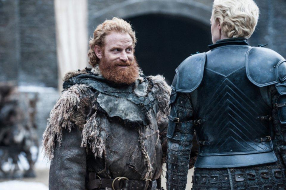 Tormund versucht noch immer Brienne zu bezirzen   diesmal mit Erfolg? © HBO