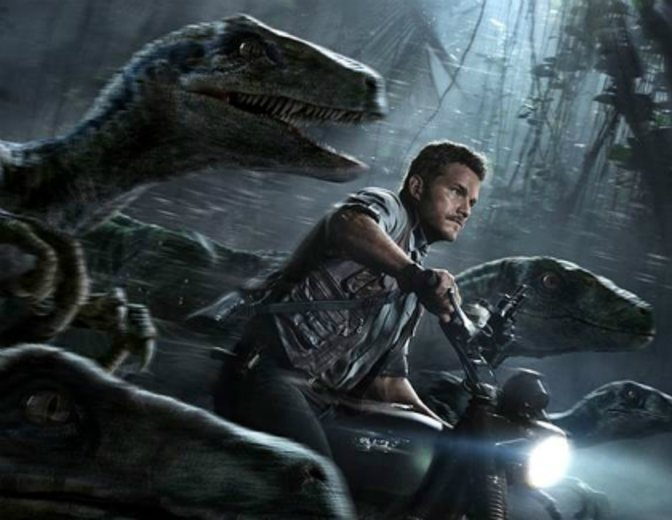 Jurassic World Chris Pratt Raptoren