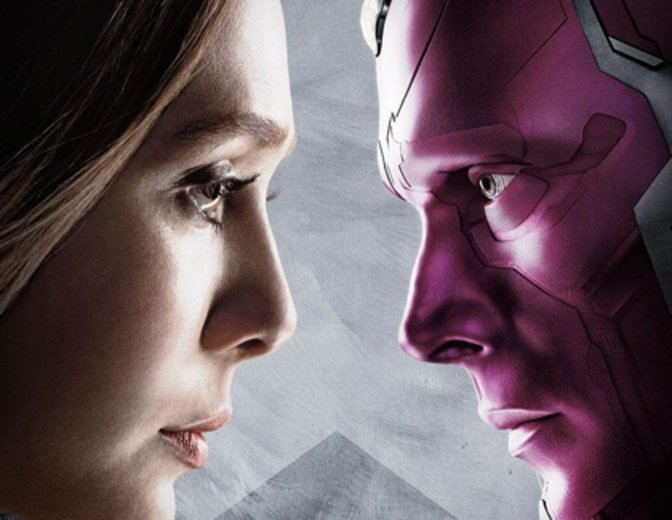 Scarlet Witch Vision Captain America Civil War The First Avenger