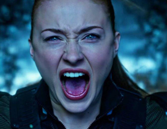 X Men Apocalypse Jean Grey Sophie Turner Dark Phoenix