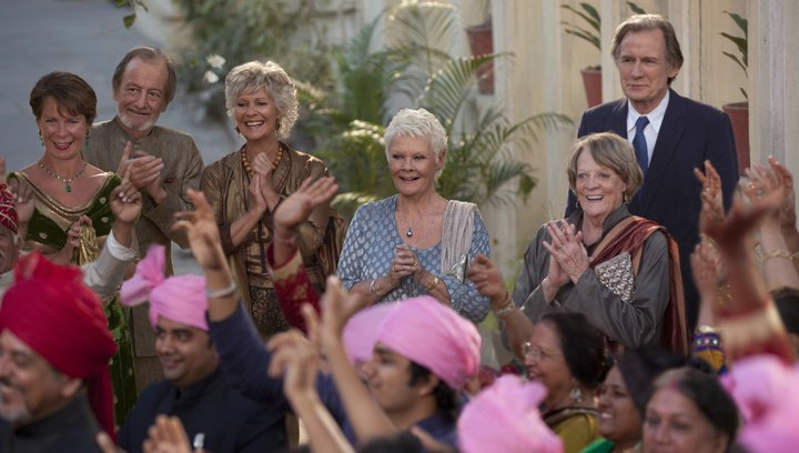 Best Exotic Marigold Hotel 2 - Trailer Poster