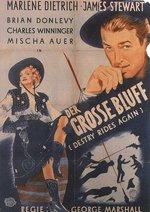 Der große Bluff Poster