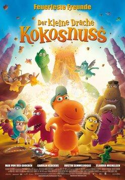 Der kleine Drache Kokosnuss - Feuerfeste Freunde Poster