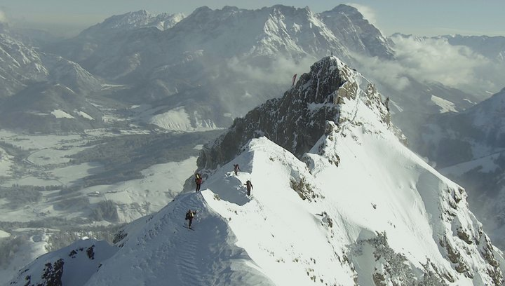 Die Alpen - Unsere Berge von oben - Trailer Poster