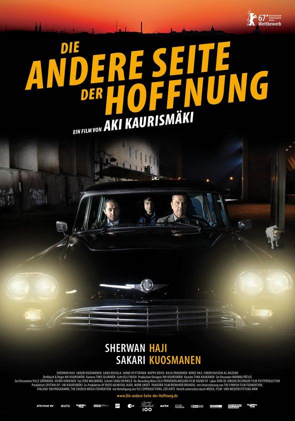 Plakat: DIE ANDERE SEITE DER HOFFNUNG