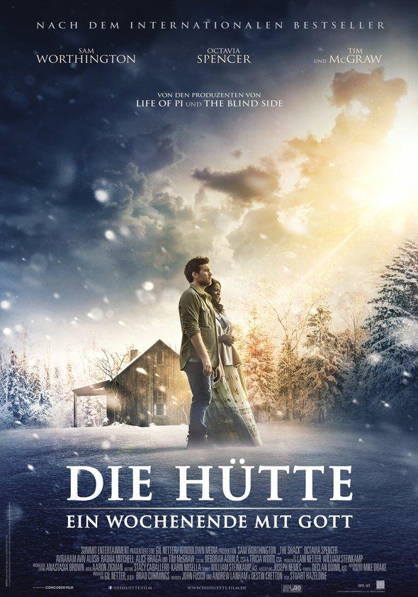 Plakat: Die Hütte - ein Wochenende mit Gott